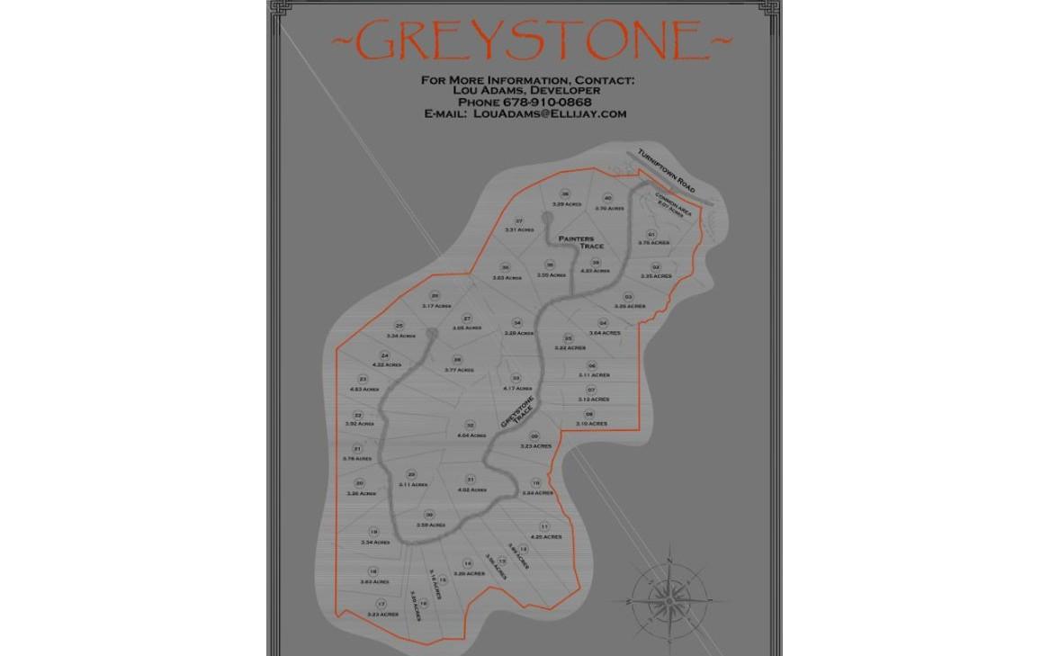 LOT 2  GREYSTONE TRACE