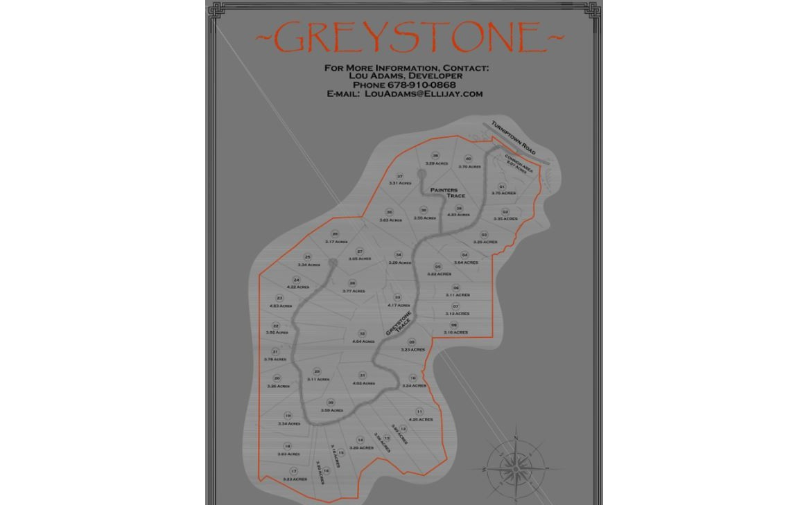 LOT28  GREYSTONE TRACE