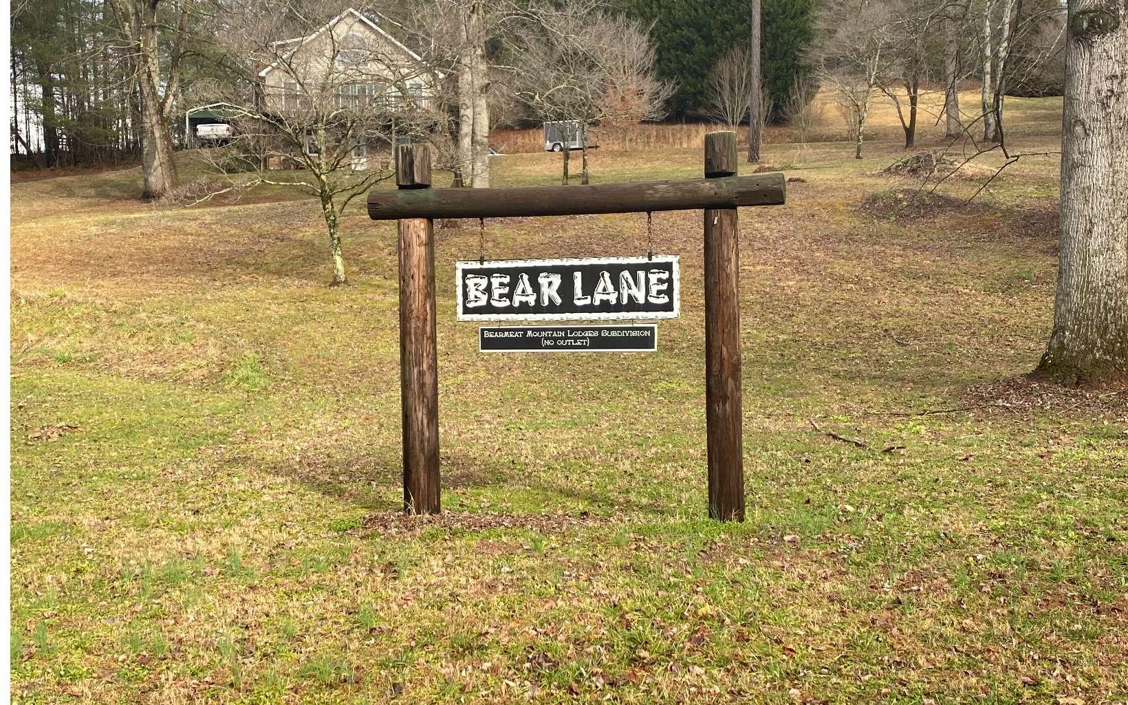 LT 3  BEAR LANE